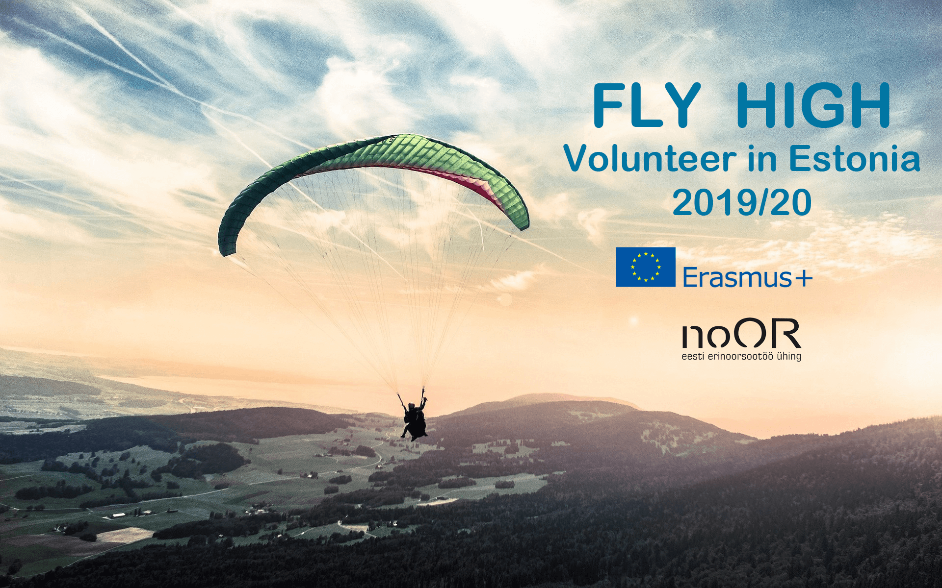 FLY HIGH VOLUNTEER IN ESTONIA 2019/2020 ERASMUS+
